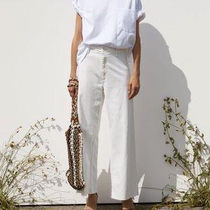 Zara Marine Straight Pants